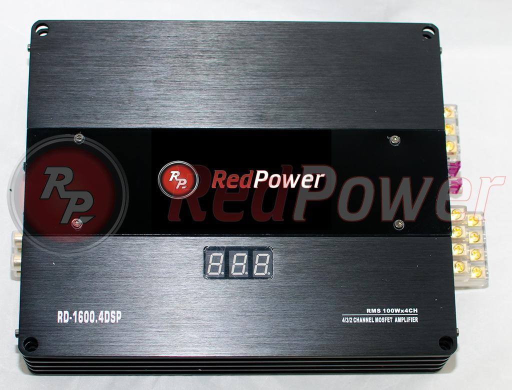 11900)Усилитель с процессором RD-1600