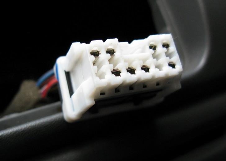 11792)Колодка подключения Nissan X-Trail T30, Almera Classic, Micra, Note