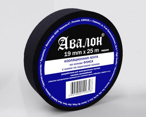 4985)Изолента AVALON Флис 19х25