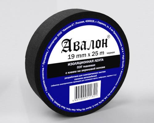 4984)Изолента AVALON Ткань 19х25
