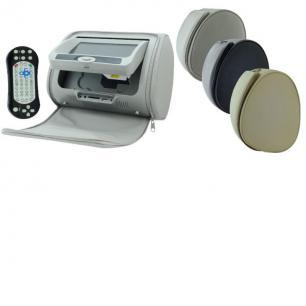 """5734)INTRO CDH 72 BG, монитор в подголовник DVD 7"""" в комплекте -2шт.,"""