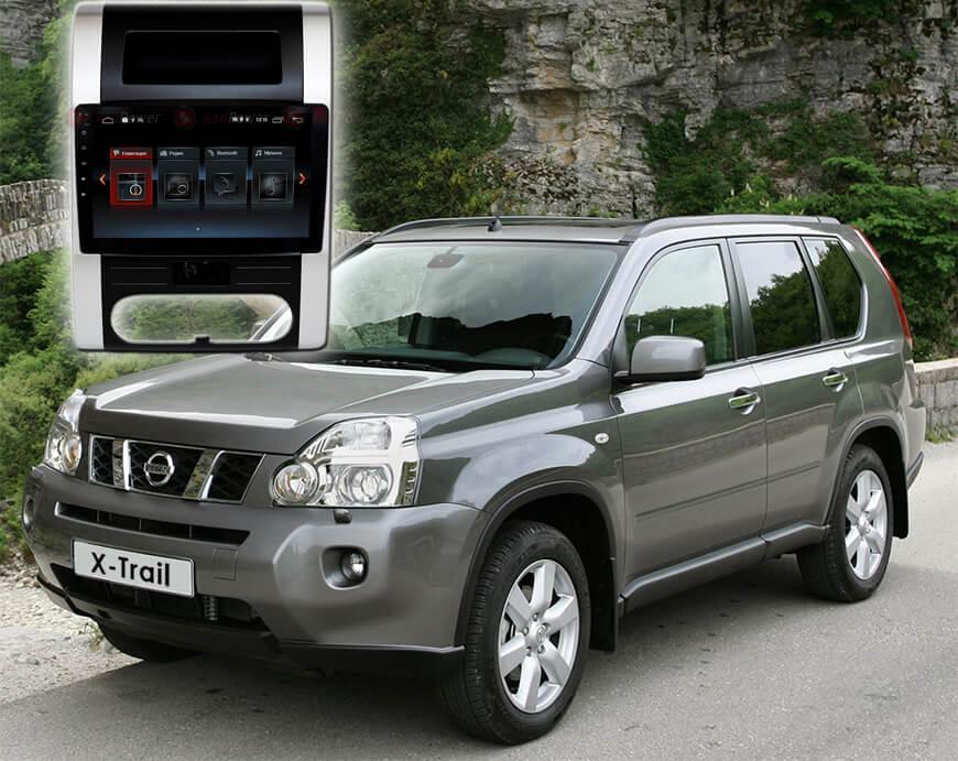 9339)Установочный комплект 10 дюймов 30001 IPS Nissan X-Trail T31 (2007-2015) с климат-контролем