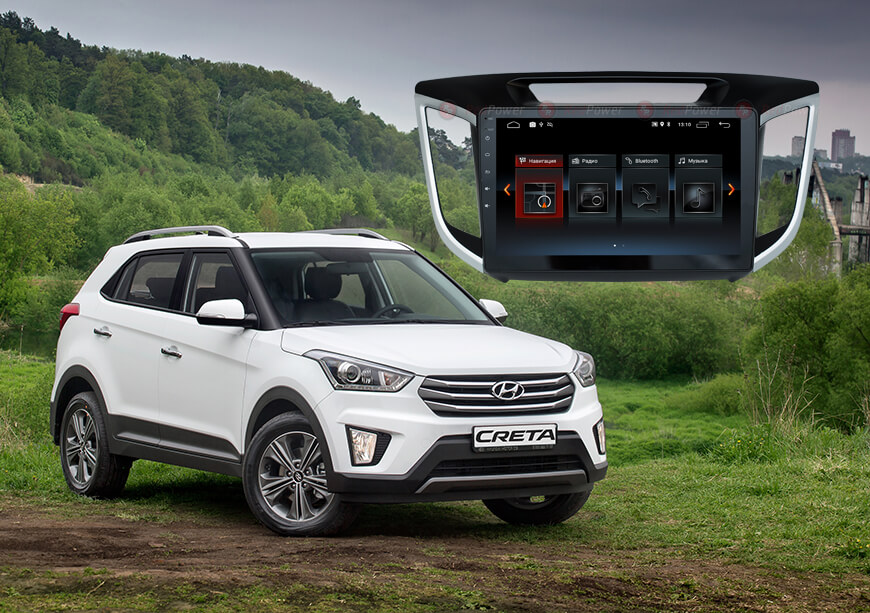 9238)Установочный комплект 10 дюймов 30025 IPS Hyundai Creta ix25