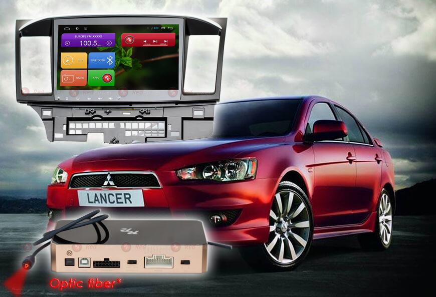 9324)Автомагнитола Redpower 31037 IPS DSP Mitsubishi Lancer X (2007-2012)