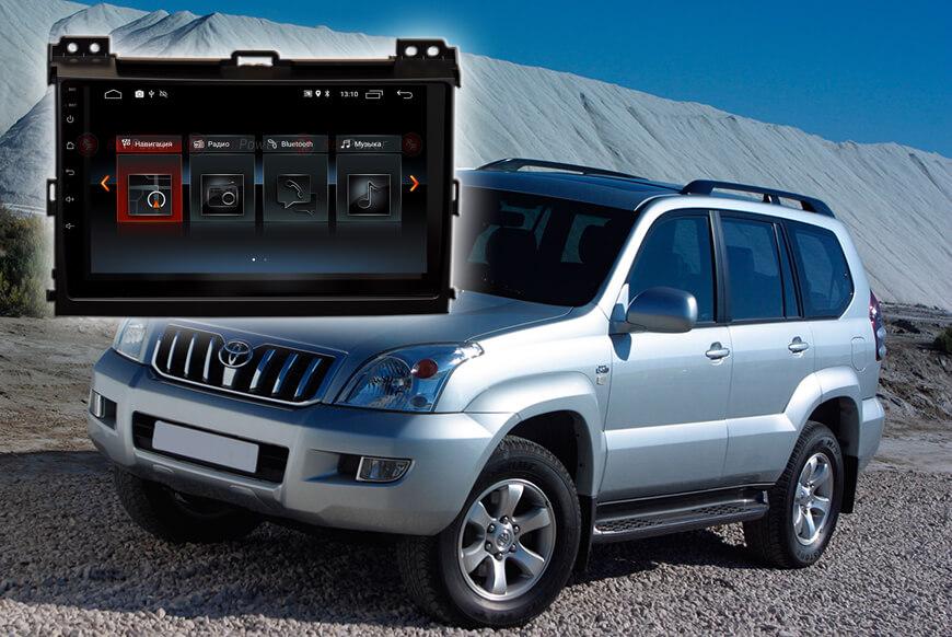 9420)Установочный комплект 9 дюймов 30182 IPS Toyota LC Prado 120; Lexus GX 470 (2002-2009)