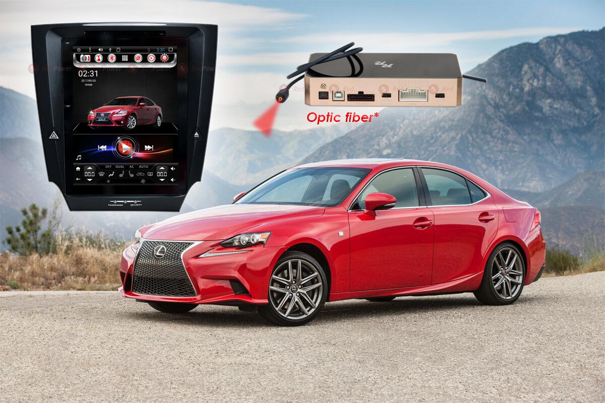 9396)Автомагнитола Redpower 31300 IPS DSP (Tesla) Lexus IS (2005-2013) с управлением климата