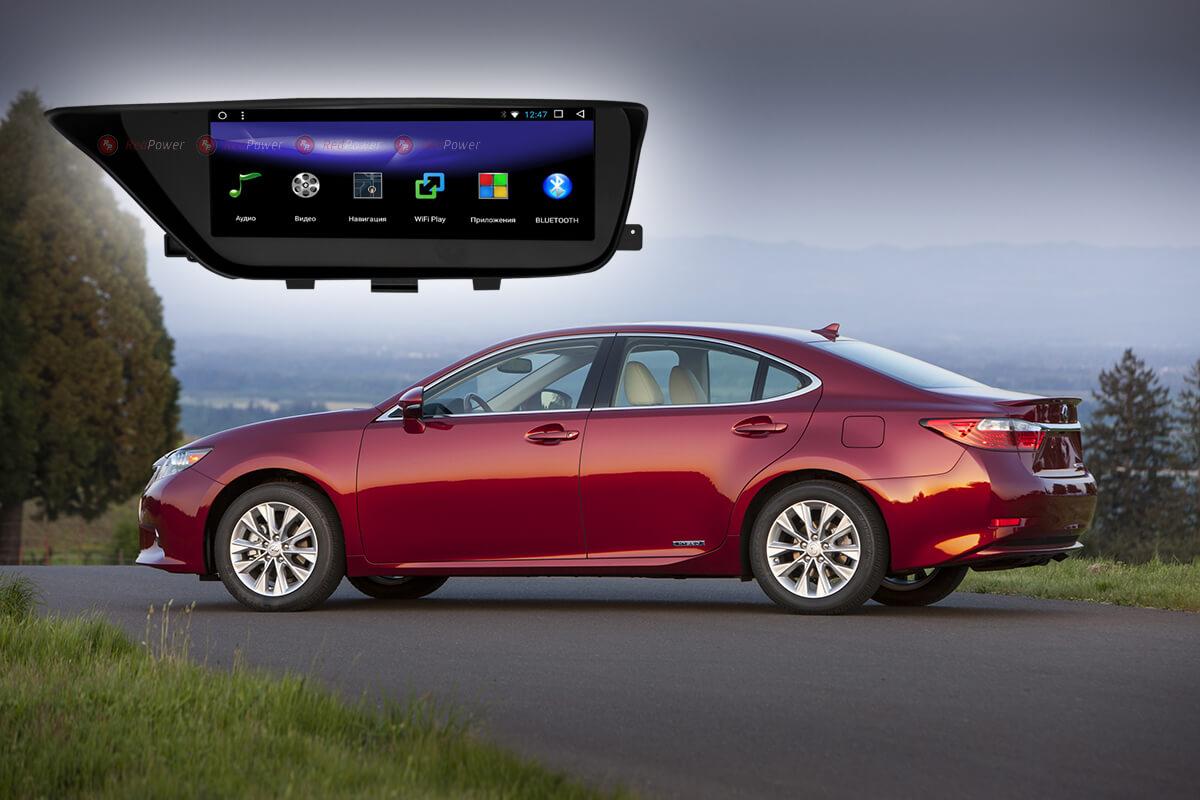 10639)Головное устройство Redpower 51418 IPS Lexus ES (2013-2017)