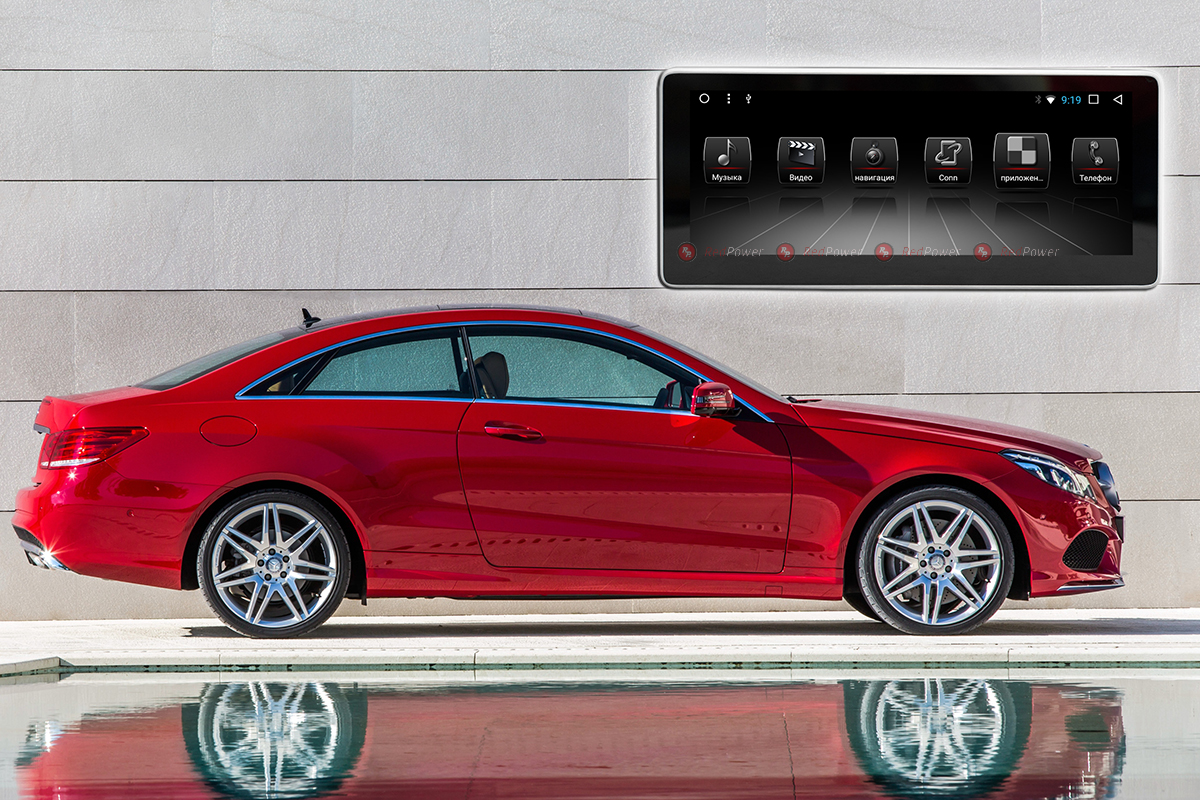 10575)Головное устройство Redpower 51613 IPS Mercedes-Benz W212,C 207. (2009-2012)