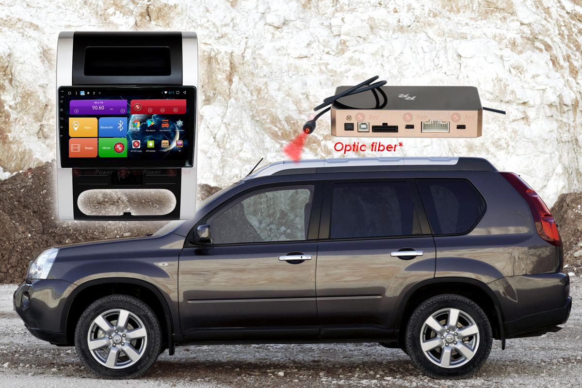 9342)Установочный комплект 10-9.2 дюйма 31001 IPS DSP Nissan X-Trail T31 (2007-2015) с климат-контролем