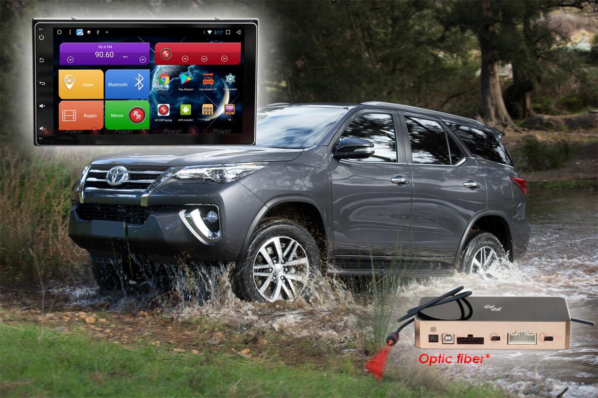 9383)Автомагнитола Redpower 31069 IPS DSP Toyota Corolla (2017-18) ,  Fortuner (2017+)