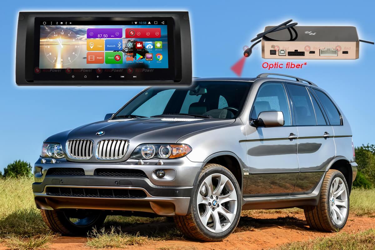 10475)Автомагнитола Redpower 51083 IPS DSP BMW X5 (E53), Е38, Е39 .(С аналоговым усилителем)