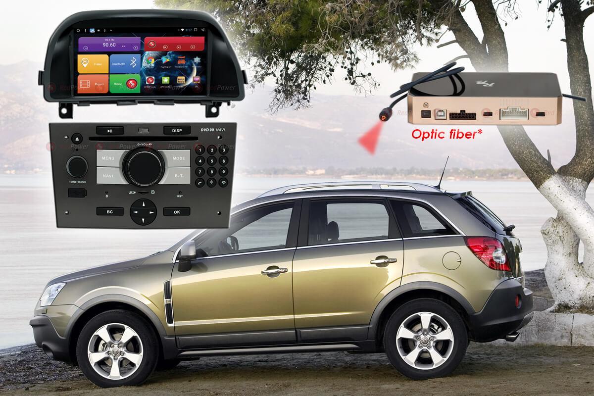 10602)Автомагнитола Redpower 51119 IPS DSP DVD Opel Antara (2012-2017)