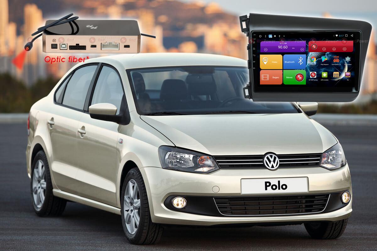 9449)Установочный комплект 9 дюймов 31134 IPS DSP Volkswagen Polo 5 (2009+)