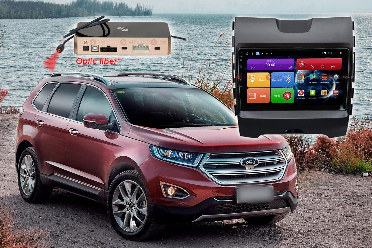 11539)Установочный комплект 9-9.2 дюйма 51138 IPS DSP Ford Edge (2015+) комплектация с маленьким дисплеем