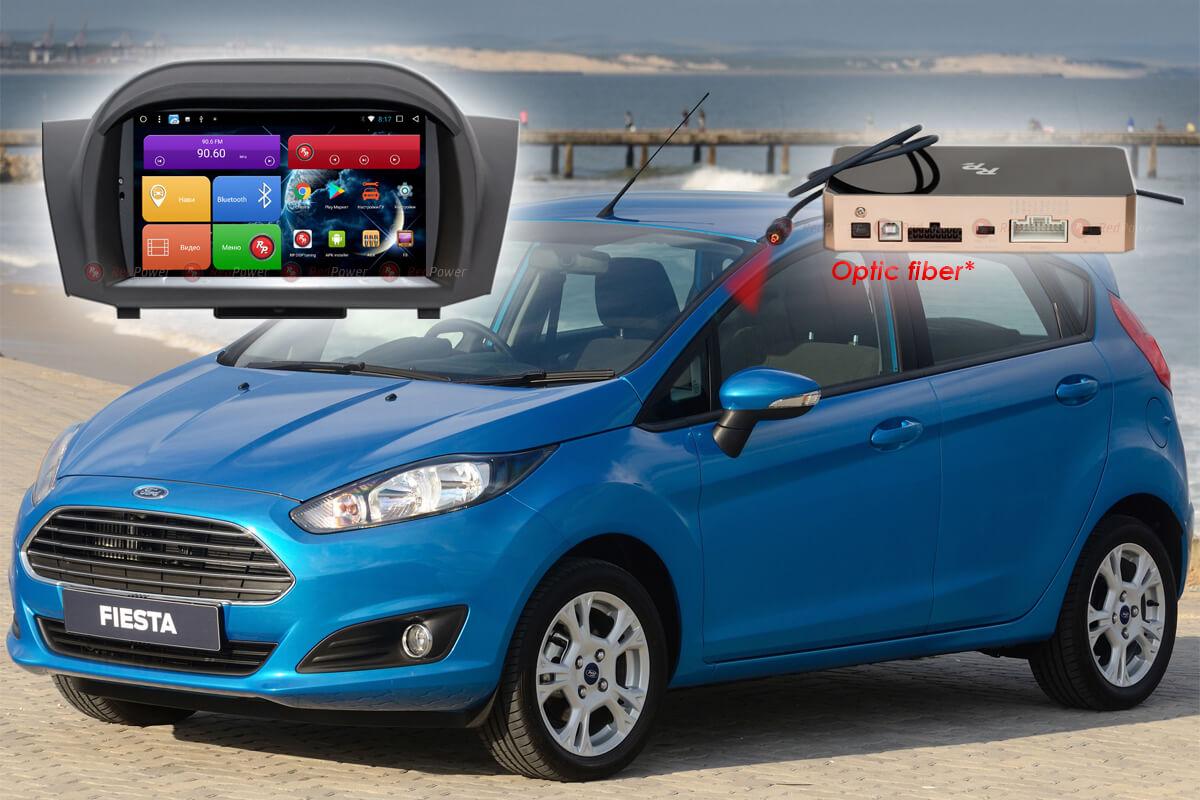 10499)Автомагнитола Redpower 51141 IPS DSP Ford Fiesta с DVD (2008+)