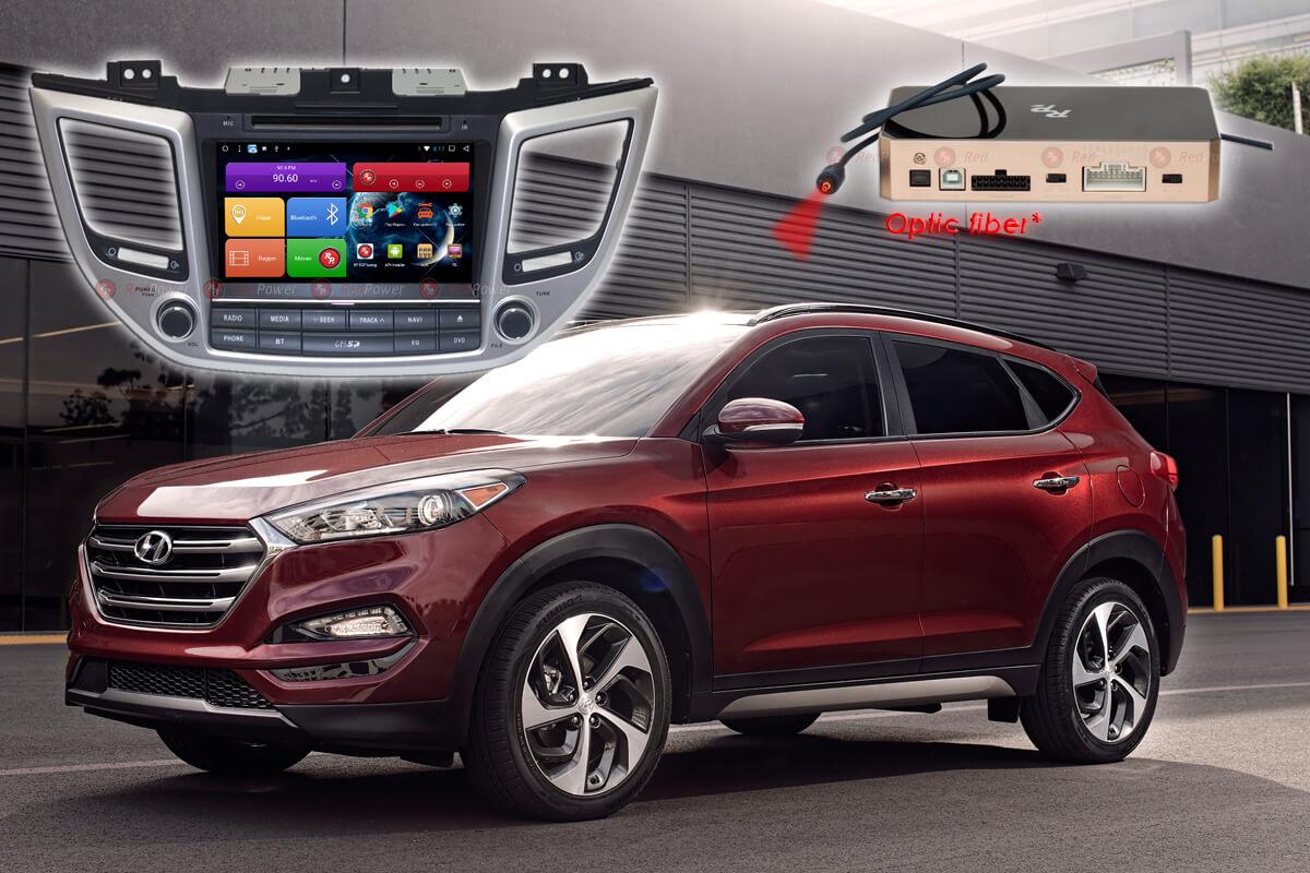 9233)Автомагнитола Redpower 31147 IPS DSP Hyundai  ix35, Tucson с DVD (2016-2018)
