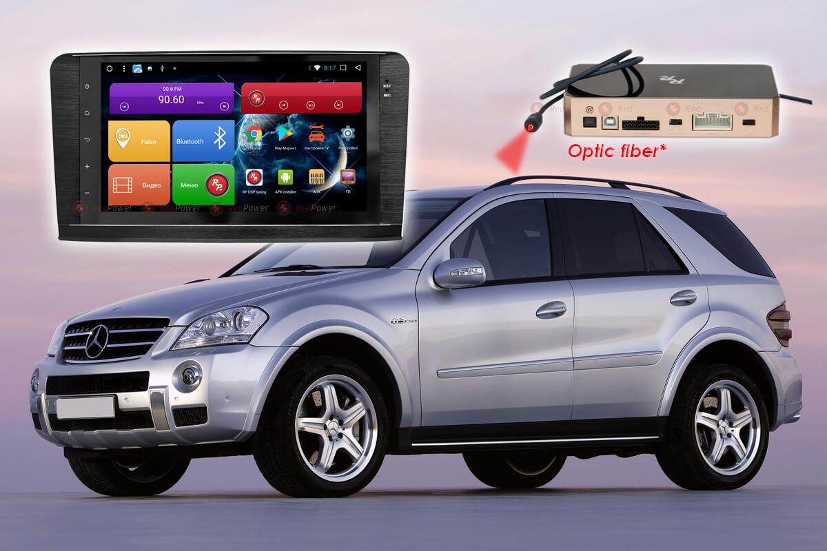 9307)Автомагнитола Redpower 31168 IPS DSP Mercedes-Benz ML-GL (2006-2012)