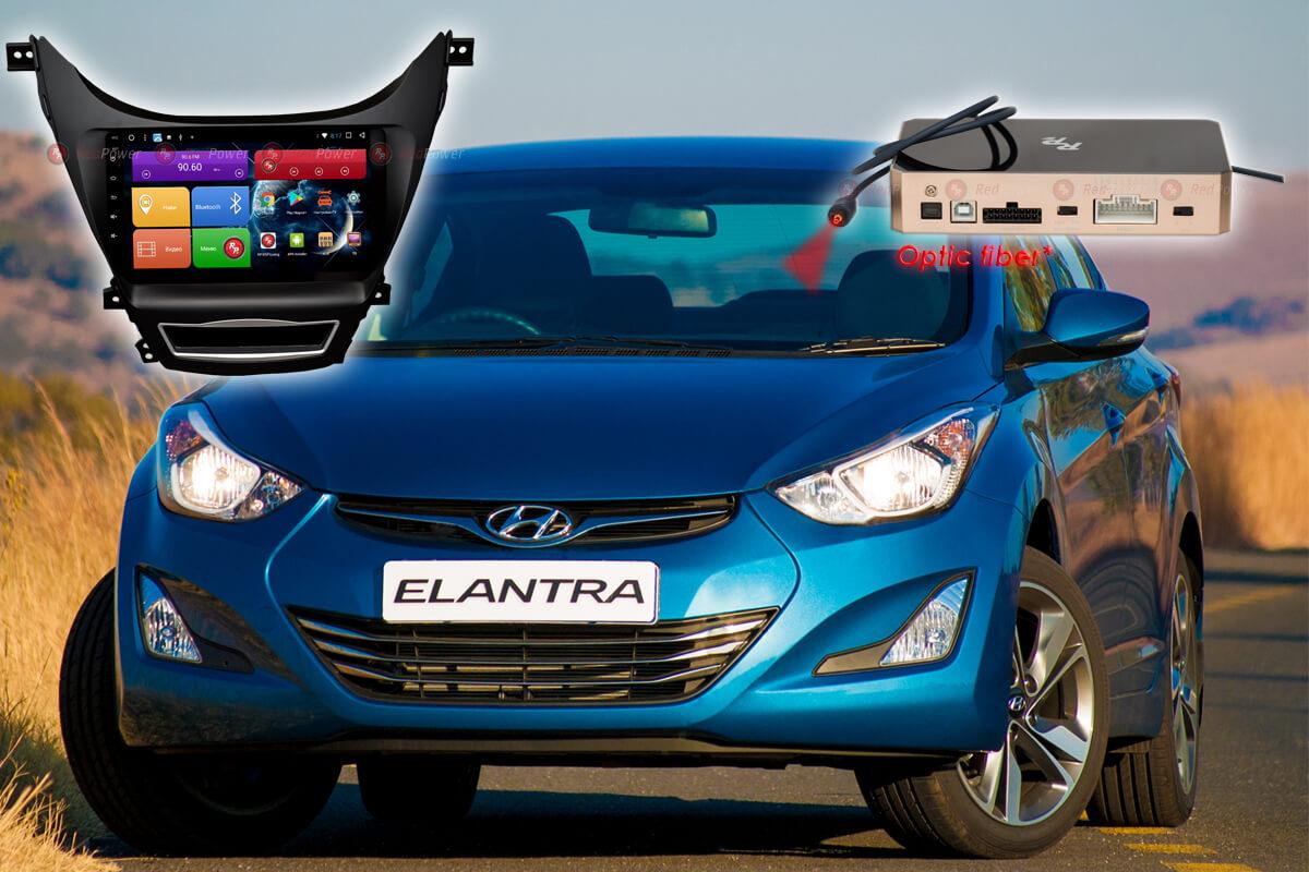 9252)Установочный комплект 9 дюймов 31192 IPS DSP Hyundai Elantra 5 (2014-2016)