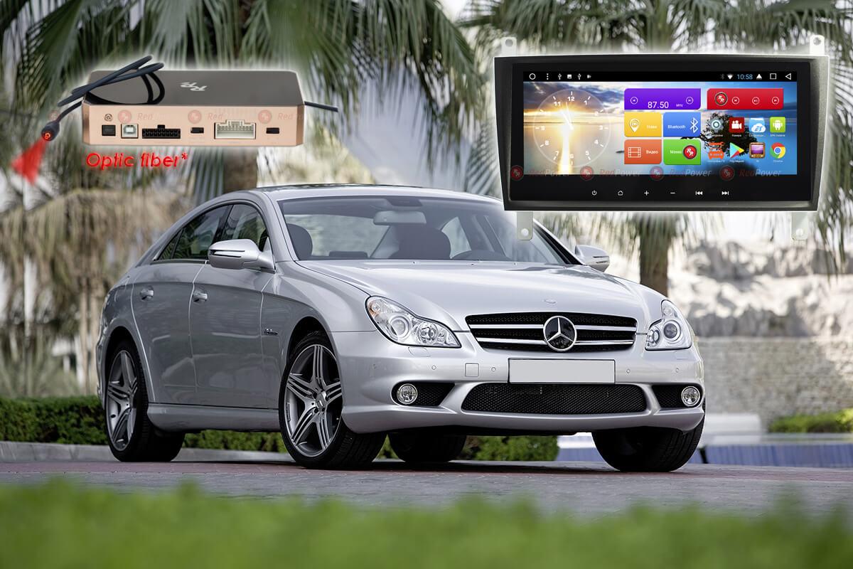 10568)Автомагнитола Redpower 51367 IPS DSP Mercedes-Benz C-Class W203 (2004-2007)