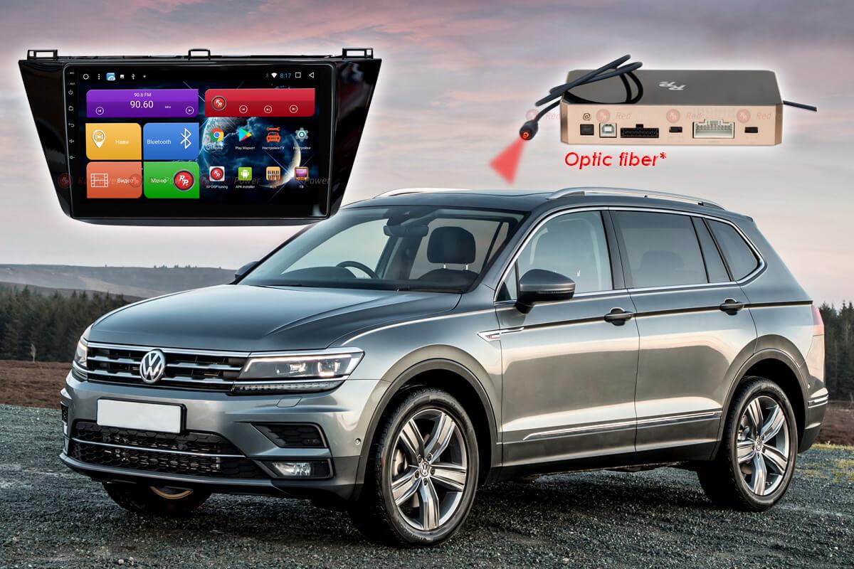 9441)Установочный комплект 10 дюймов 31403 IPS DSP Volkswagen Tiguan (2017+)
