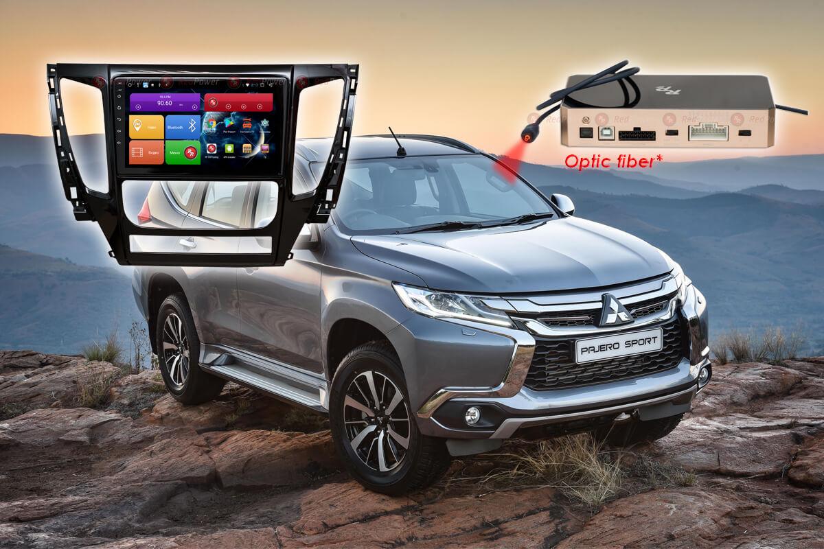 9335)Установочный комплект 9 дюймов 31423 IPS DSP Mitsubishi Pajero Sport (2015-2019)