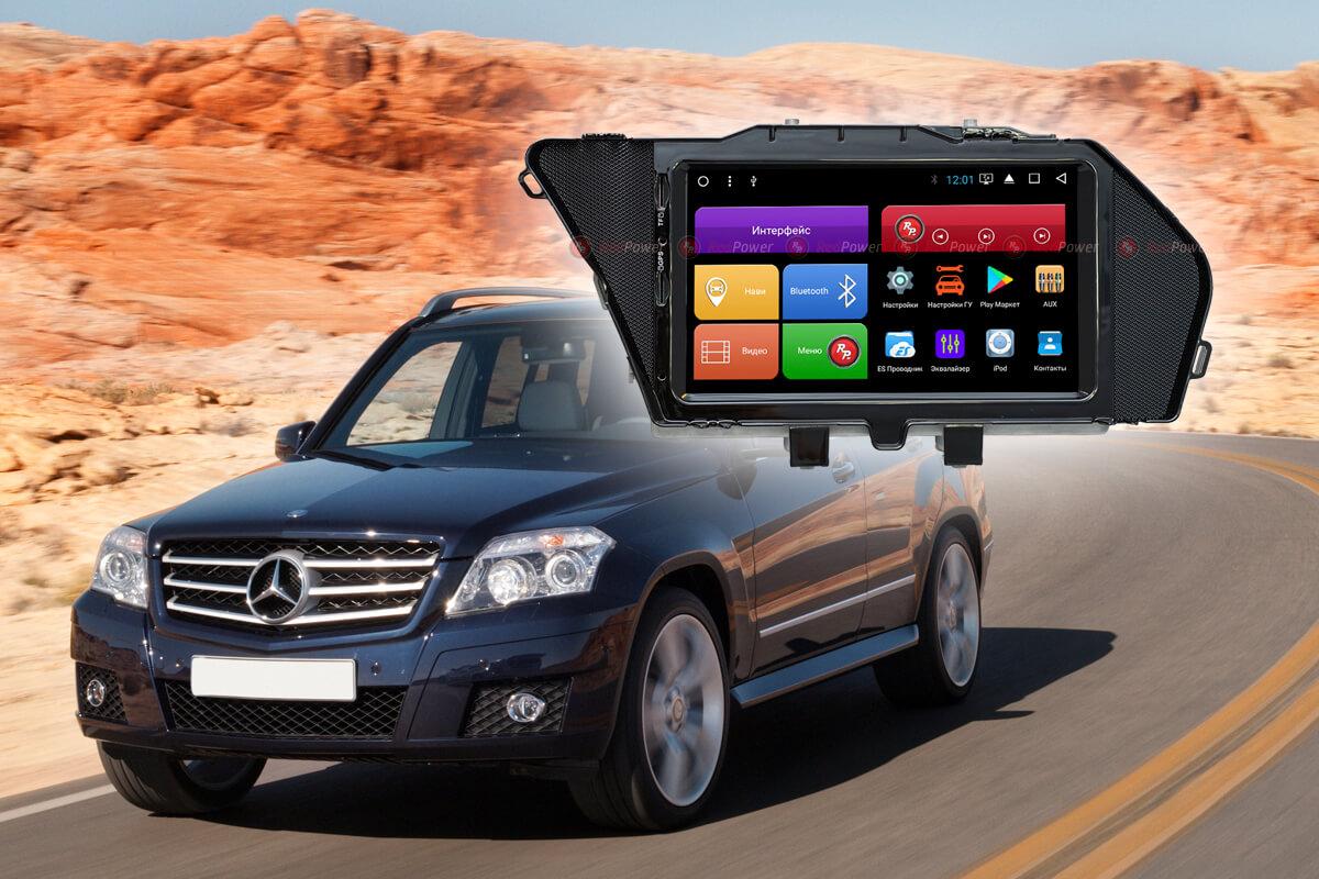 10574)Головное устройство Redpower 51468 Mercedes-Benz GLK-Класс дорестайл (2008-2012)