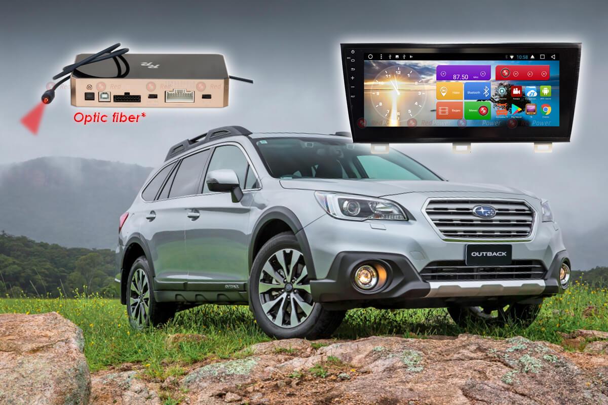 9369)Автомагнитола Redpower 31562 IPS DSP Subaru Outback (2015-2017)