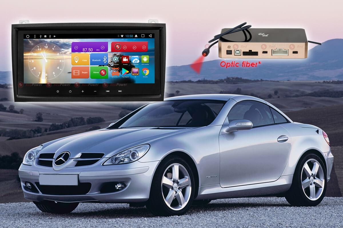 10571)Автомагнитола Redpower 51768 IPS DSP Mercedes-Benz SLK-Класс R171 (2004-2012)