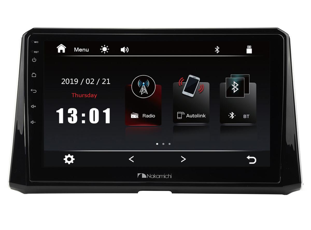 14855)ШГУ Toyota Corolla 19+ комп-ция Classic (Nakamichi NTA-2202CL)