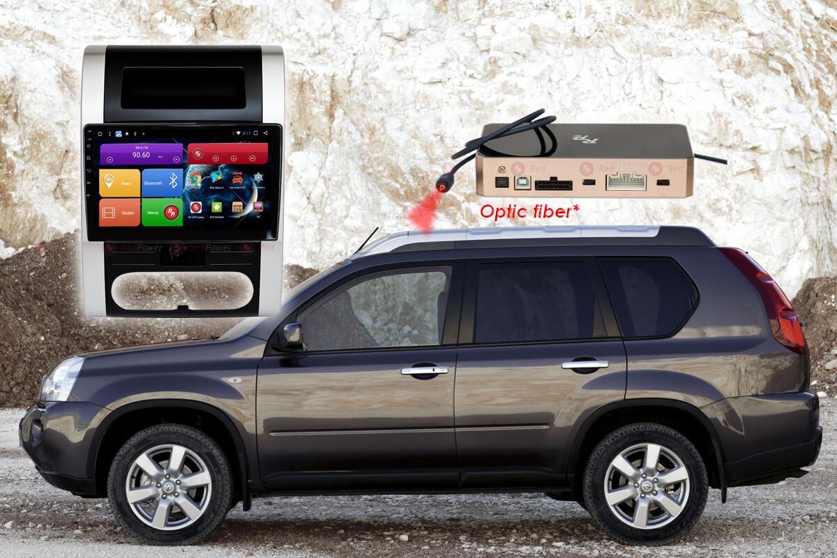 11596)Установочный комплект 10-9.2 дюйма 51001 IPS DSP Nissan X-Trail T31 (2007-2015) с климат-контролем