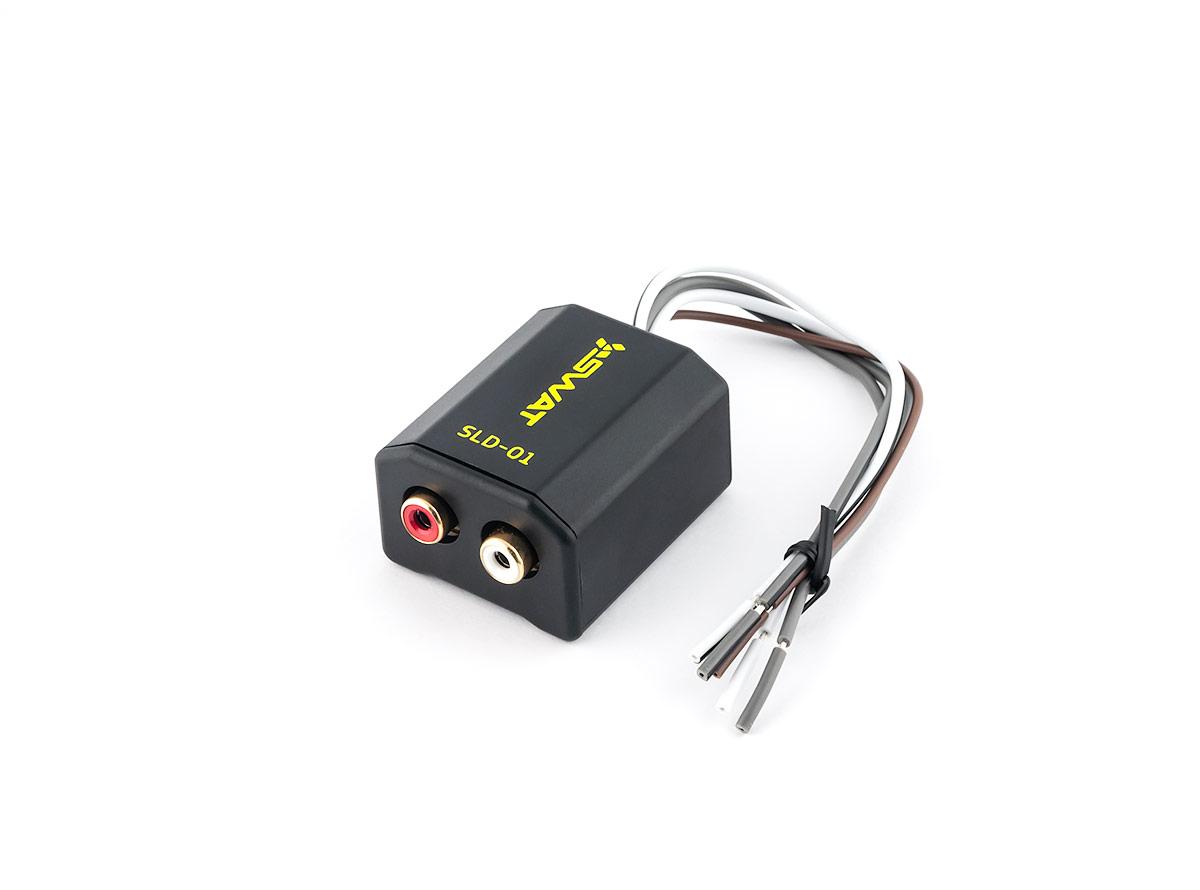 5648)SWAT прeобразователь уровня сигнала 2-канальный HI-LOW SLD-01