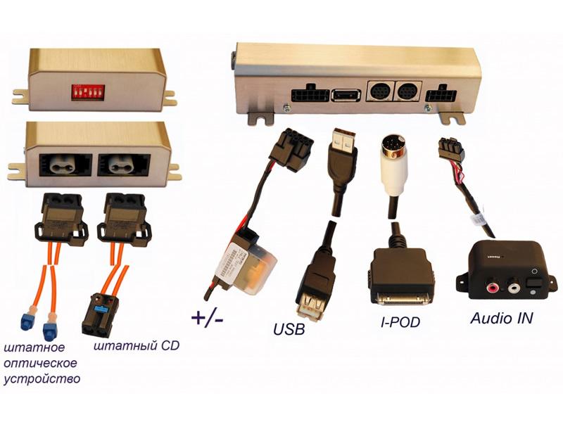 1249)Intro AUX-GE500 оптика (+USB, +I-Pod)