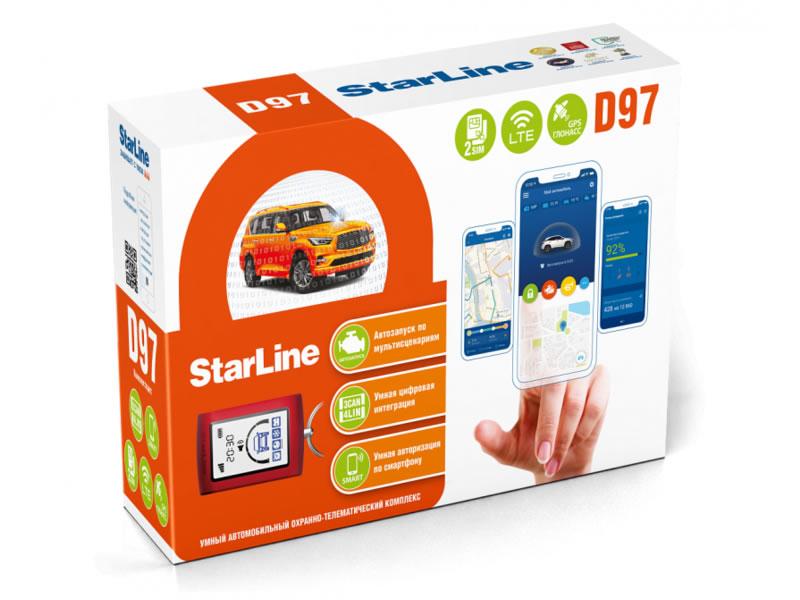 17229)StarLine D97 2SIM LTE-GPS