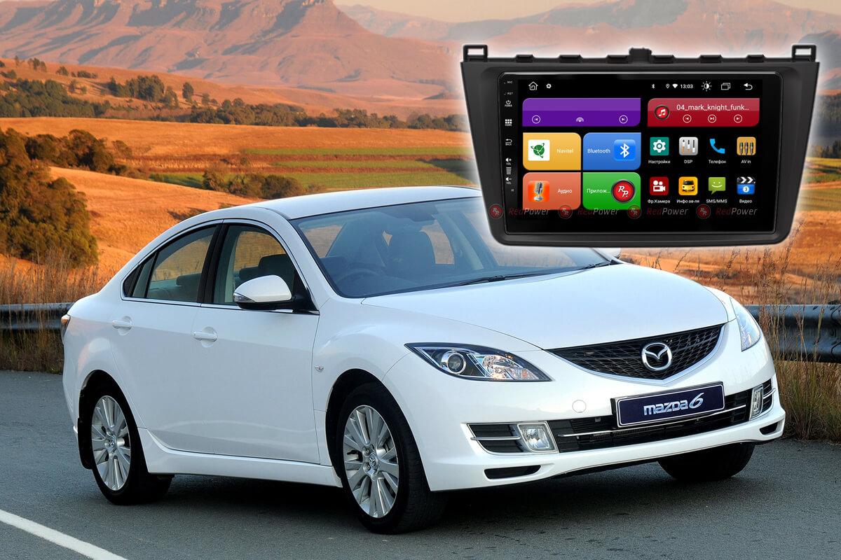 12066)Mazda 6 (2009-2013) УК 61002 9 дюймов