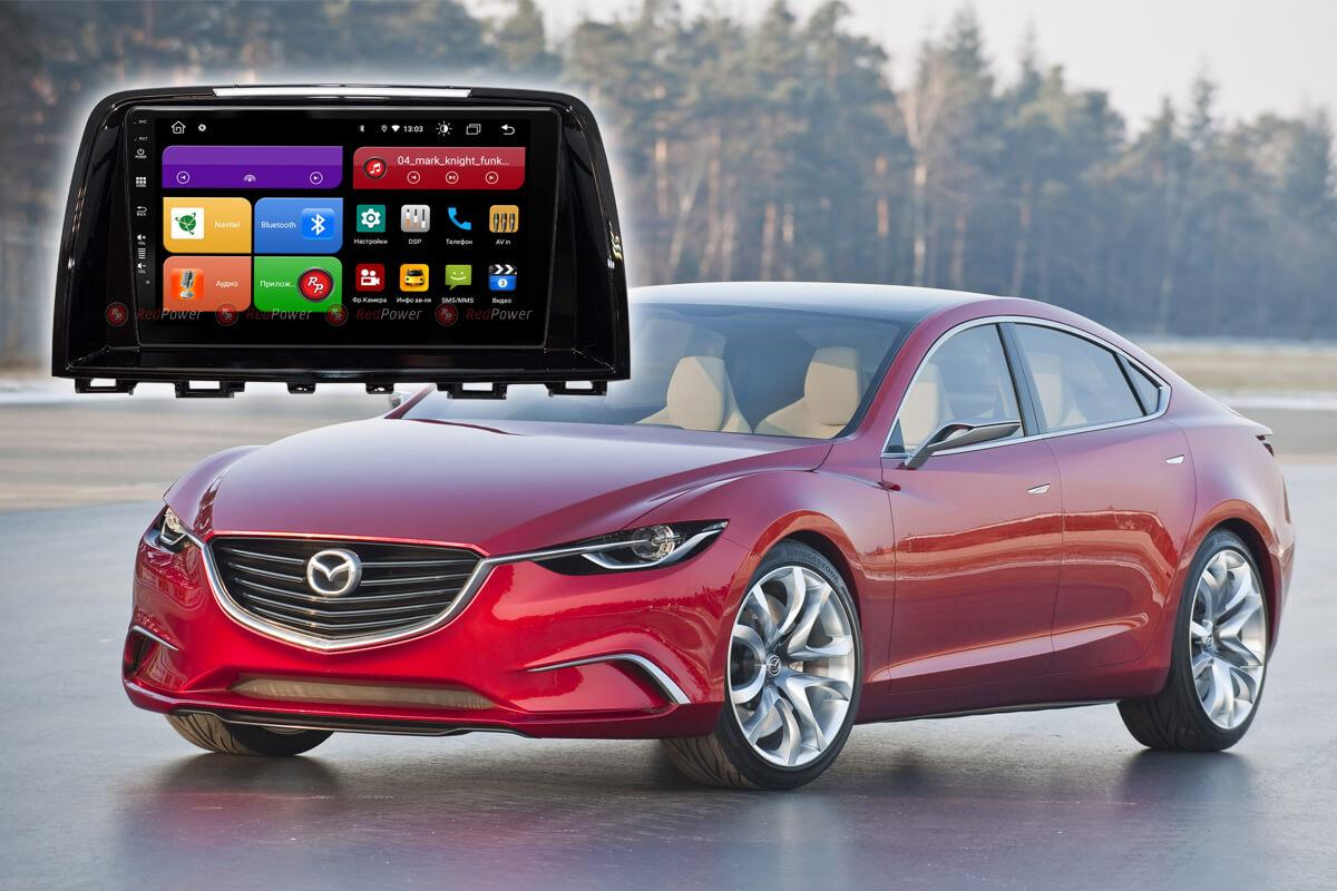 12067)Mazda 6 (2012-2014) УК 61012 9 дюймов