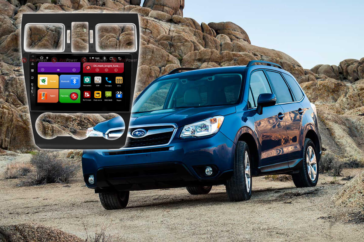 12104)Subaru XV (2015+), Forester (2015-18) УК 61262 9 дюймов