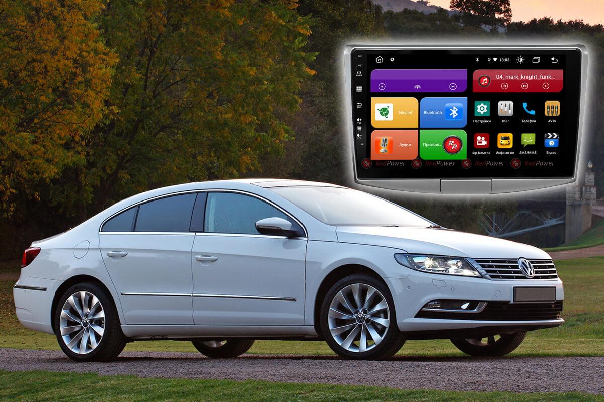12146)Volkswagen Passat CC (2012-17),B7(2011-15),B6, УК 61400 10 дюймов