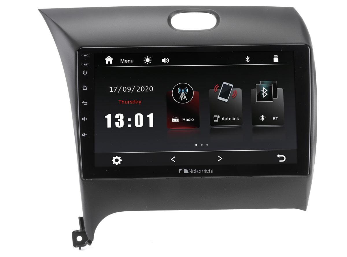 "14505)ШГУ KIA Cerato 12-18 (Nakamichi NTA-1803) 4x50Вт, RDS, MP5, USB, BT,2.5D экран, MirrorLink, 9"""