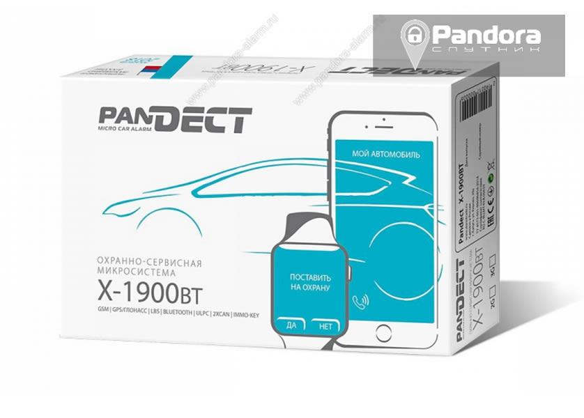 4274)Pandect X-1900 BT + Pandora-СПУТНИК