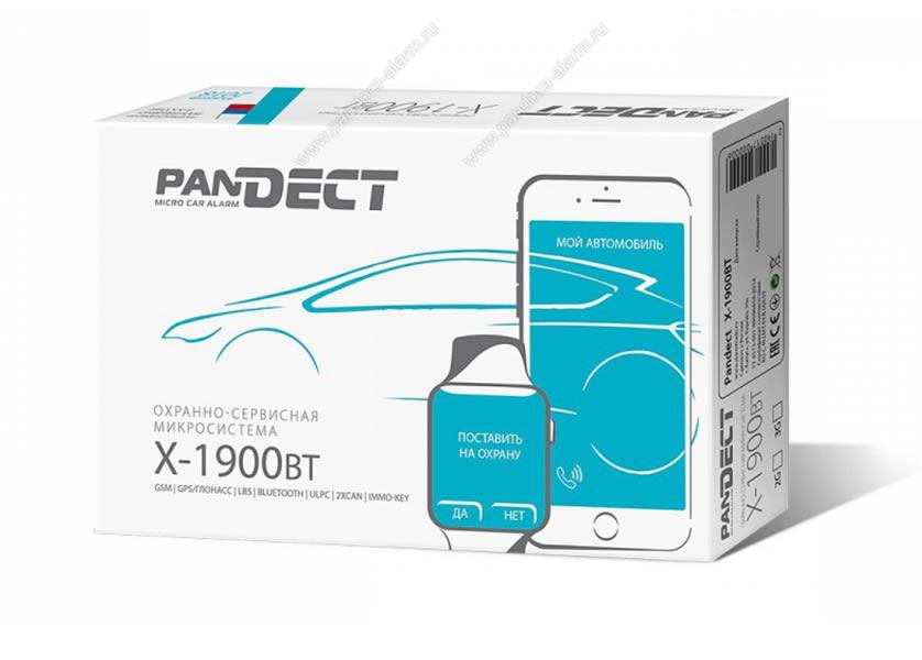 4266)Pandect X-1900 BT 3G