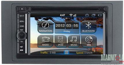 3290)Ford Focus 2, C-Max, Kuga, Fusion, Fiesta 05+, S-Max, Transit (Incar AHR-3380FO)