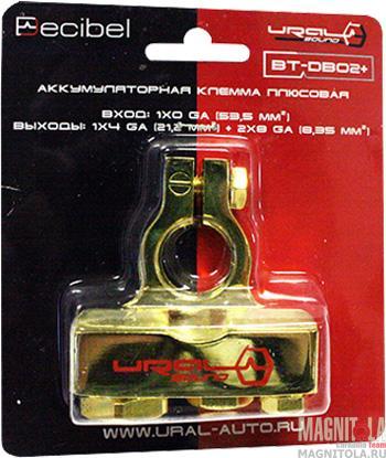 2893)Клемма аккум. URAL BT-DB02 плюсовая