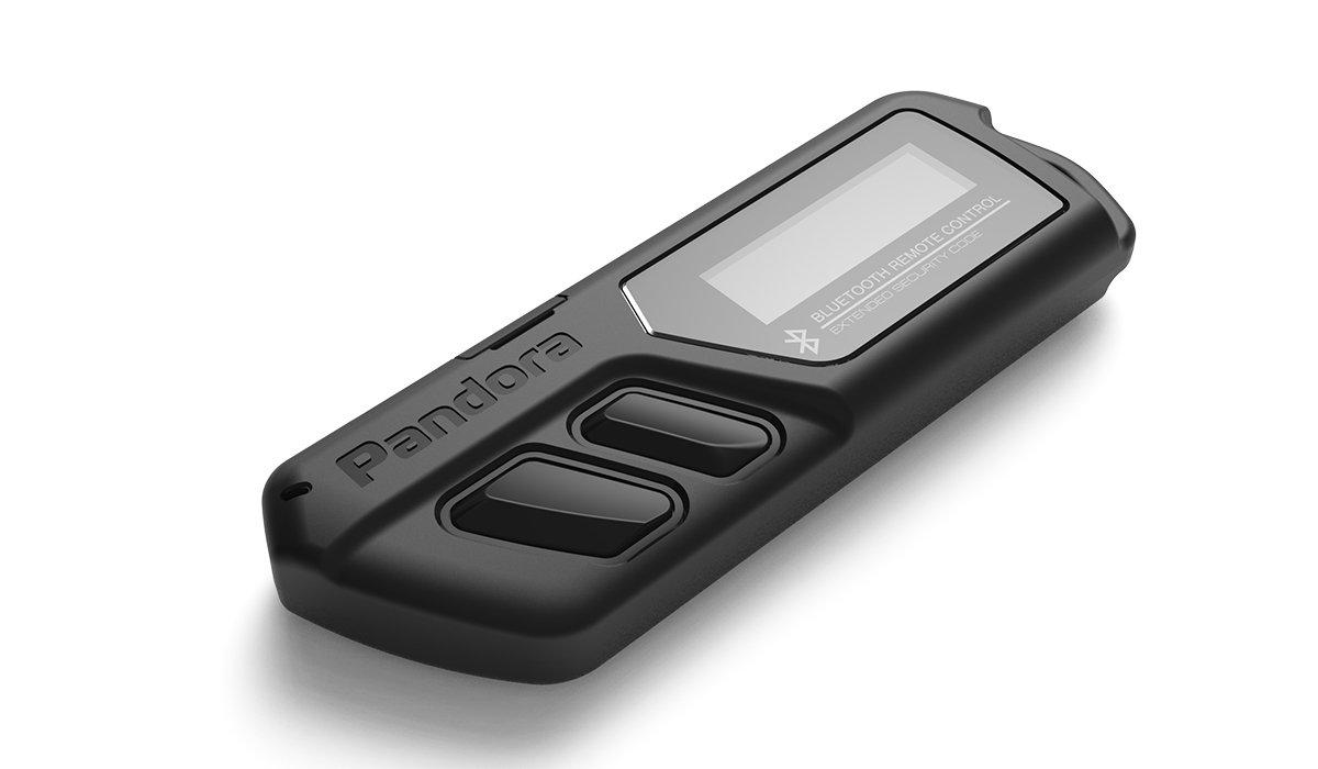 11964)Брелок LCD D030 black