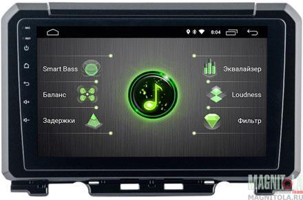 "9779)ШГУ Suzuki Jimny 19+ (INCAR DTA-1701) Android 9.0, 1024*600, IPS, wi-fi, DSP, 9"""