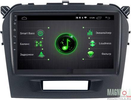 "9781)ШГУ Suzuki Vitara  (INCAR DTA-1707) Android 9.0, 1024*600, IPS, wi-fi, DSP, 10"""