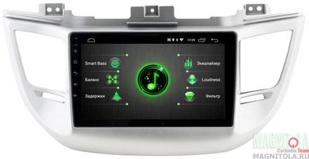 "9765)ШГУ Hyundai Tucson 16-18 (INCAR DTA-2404) Android 9.0, 1024*600, BT, IPS, wi-fi, 9"", DSP"