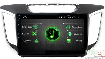 "7764)ШГУ Hyundai Creta 16+ (INCAR DTA-2410) Android 9.0, 1024*600, wi-fi, IPS, BT, 10"", DSP"