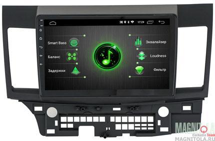 "7772)ШГУ Mitsubishi Lancer 09+ (INCAR DTA-6102) Android 9.0, 1024*600, wi-fi, IPS, BT, 10"", DSP"