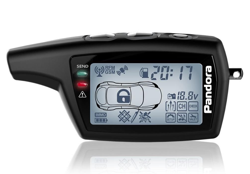 11974)Брелок LCD DXL 078 black DX 50B