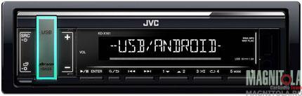 6046)JVC KD-X161